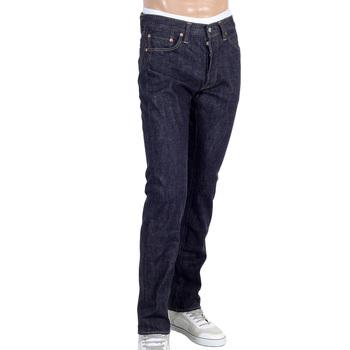 Sugarcane Slim Fit SC42014A Lower Rise Straight Leg Denim One Wash Jeans for Men CANE4444