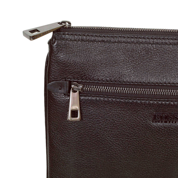 Hugo Boss brown leather bag Minimo BOSS4583