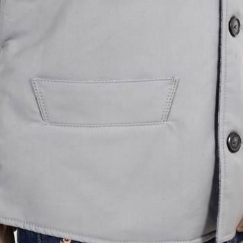 RMC x MKWS Mens Regular Fit Light Blue Vintage Cut Cotton Waistcoat RMC1951