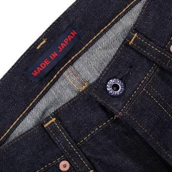 RMC Martin Ksohoh 4A FM Union Japanese Denim Indigo Raw Selvedge Gold Embroidered 1001 Jeans RMC1933