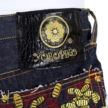 RMC Martin Ksohoh RQP14034 Yoropiko Embroidered Mens Japanese Make Raw Denim Jeans RMC2193