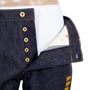 RMC Mens Japanese Indigo Selvedge RQP14039 1001 Yamato Damashi 12th Anniversary Denim Jeans RMC4145