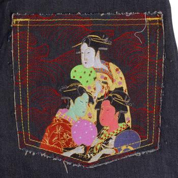 Red Monkey Vintage Cut Hong Kong Make Dark Indigo Raw Selvedge Denim Jeans for Men REDM4227