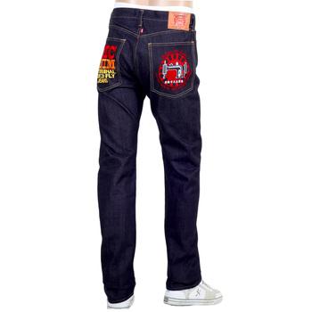RMC Indigo Slim Fit Model 1011 Japanese ORJ Machine Raw Selvedge Denim Jeans REDM4461