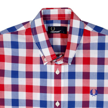 Gingham check shirt by Fred Perry FPRY3619