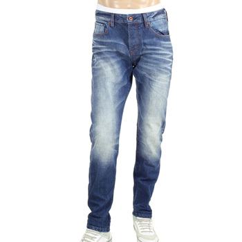 Scotch and Soda Ralston Slim Fit Jeans with Oven Baked Creases SCOT5060