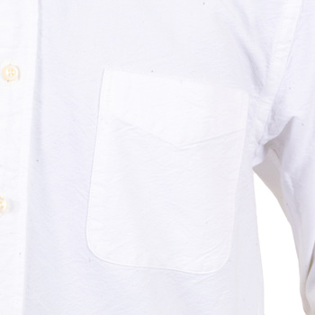 Sugar Cane Classic Styled One Wash SC26475A Off White Oxford Shirt with Button Down Collar CANE4471