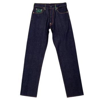 RMC Jeans Genuine Super Exclusive Red Star Dark Indigo Raw Selvedge 1001 Model Jeans REDM0016