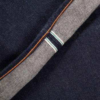 RMC Genuine Exclusive Oriental Lion Embroidered Vintage Cut Selvedge Raw Denim Jeans REDM0060