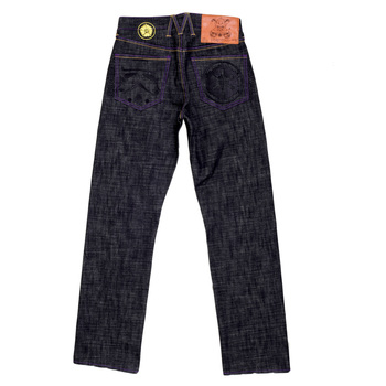 Yoropiko Exclusive Black Embroidered Star Wars Vintage Cut Model 1002 Raw Selvedge Denim Jeans YORO1226