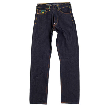 RMC Martin Ksohoh Exclusive Monjubosatu YEAR OF THE RABBIT Embroidered Indigo Raw Selvedge Denim Jeans REDM3089