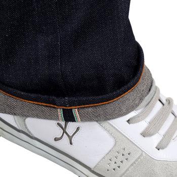 RMC Martin Ksohoh Exclusive Fugen Bosatu YEAR OF THE SNAKE Embroidered Indigo Raw Selvedge Denim Jeans REDM3102