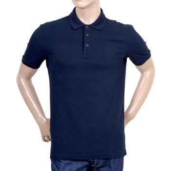 buy cotton polo shirt from giorgio armani collezioni