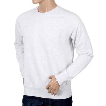 Carhartt Regular Fit Cotton Mix Holbrook LT Crew Neck Sweatshirt for Men in Ash Heather CARH7257