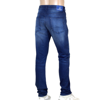 Winter Spirit Ralston 135056 Regular Slim Fit Jeans with Fading and Creasing By Scotch & Soda SCOT8842