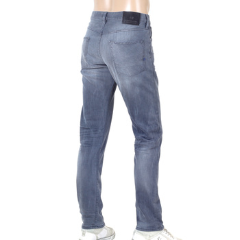 Scotch & Soda Ralston 135140 Washed Grey Jeans for Men with Regular Slim Fit and Worn Look SCOT6969A&9628