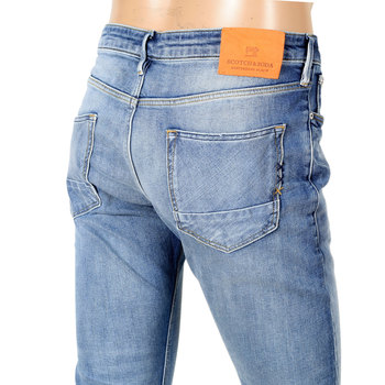 Scotch & Soda Stretch washed Blue Denim Jeans SCOT6968