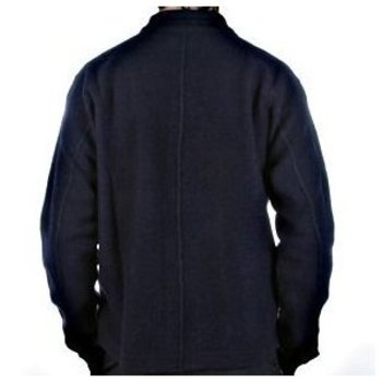 Massimo Osti jacket long sleeve navy knitted cardigan jacket