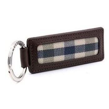 Aquascutum leather keyring