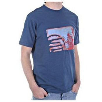 Etienne Ozeki Gus short sleeve ocean t-shirt