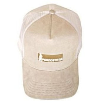 611abb16d80 Pornostatic cap Stone suedette trucker cap at Togged Clothing
