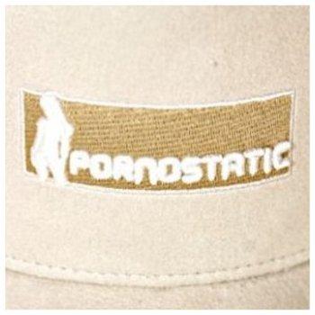 Pornostatic cap Stone suedette trucker cap