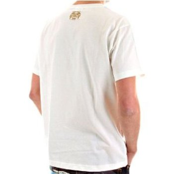 RMC Jeans Genuine Exclusive THE CHAMPION Printed Natural Crew Neck Short Sleeved Cotton T Shirt REDM5948