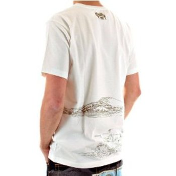 RMC Jeans Exclusive Genuine and Authentic White TOYO STORY PORTER Short Sleeve Cotton T Shirt REDM5931
