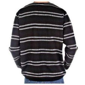 Burberry mens stripe knitwear