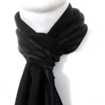 Hugo Boss Hevan grey striped scarf BOSS0815