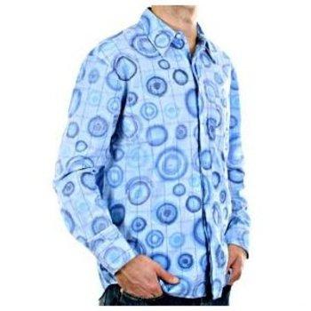 Etienne Ozeki blue long sleeve shirt