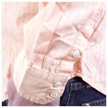 D&G Shirt Dolce & Gabbana long sleeve self coloured woven stripe shirt