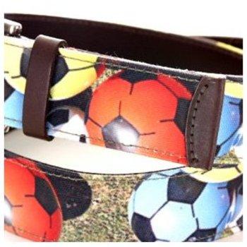 Bangers and Mash canvas/leather belt
