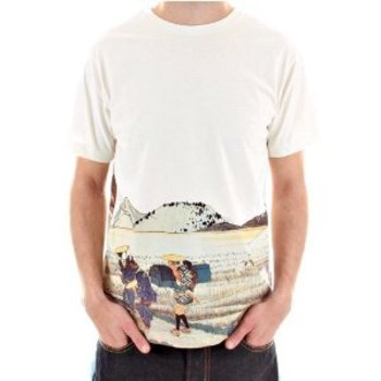 RMC Martin Ksohoh t-shirt TOYO STORY OLD JAPAN TRAVEL PEOPLE Tee REDM5946