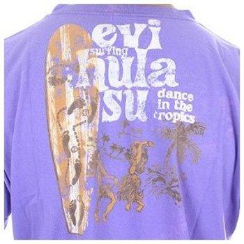 Evisu European Edition Regular Fit Crew Neck Grape Short Sleeve Vintage T-shirt EVIS3105