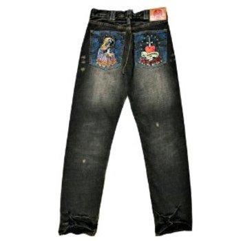 RMC Martin Ksohoh slim cut jean UNLIMITED SIFR vintage washed black jean REDM9078