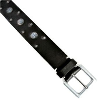 Paul Smith belt Mens black leather belt PS1038
