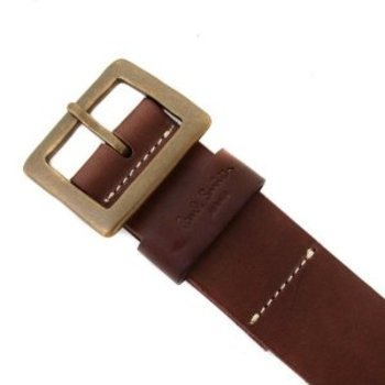 Paul Smith brown leather belt PS1692