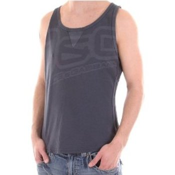 D&G t-shirt Dolce & Gabbana washed grey vest DGM3041