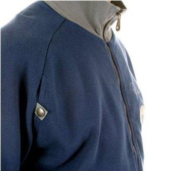 Fake London Genius jacket navy long sleeve zipped sweat shirt. FAKE6814