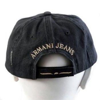 Armani Jeans Designer Caps 0648OXE Black cap AJM7514