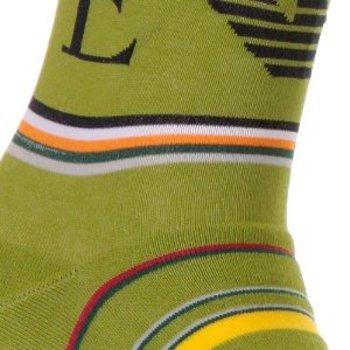 Emporio Armani green socks EAM1631