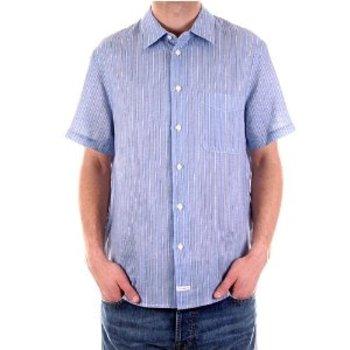 CP Company Shirt men short sleeve striped shirt. CP2139