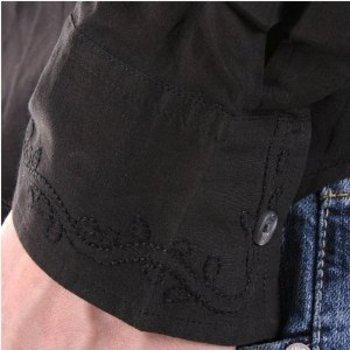 Paul Smith shirt mens black long sleeve shirt. PS3448