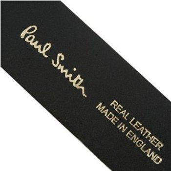 Paul Smith belt Mens black leather belt PS7687