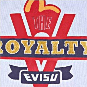 Evisu Crew Neck Regular Fit Royalty Sky Blue Short Sleeve T Shirt EVIS2303