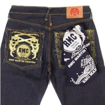 RMC Jeans 100% Cotton Printed Navy Bandana for Men RMC Jeans2942