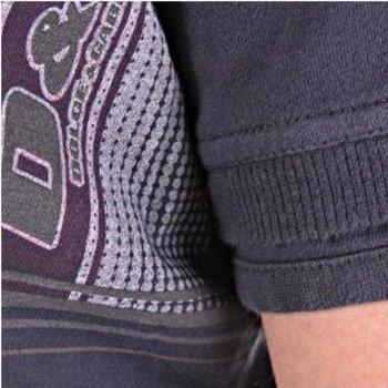 D&G t-shirt Dolce & Gabbana washed grey slim fit top DGM3027