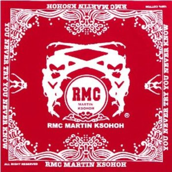 RMC Jeans 100% Cotton Mens Red Printed Bandana RMC Jeans2916