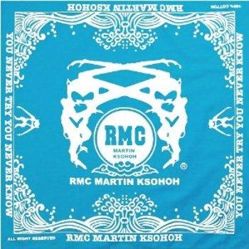 RMC Jeans 100% Cotton Mens Printed Sky Blue Bandana RMC Jeans2931